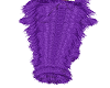 Purple Fuzzy Boots