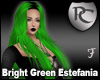 Bright Green Estefania