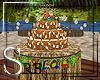*S* Tiki Birthday Cake