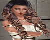 Black Brown Ringlet Hair