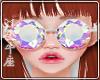 ♉ Glasses Diamond W
