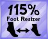 Foot Scaler 115%