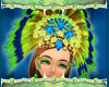 Peacock Headdress /Set
