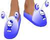 HKitty blue slippers(M)