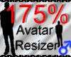 *M* Avatar Scaler 175%