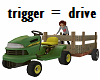 Action Tractor w/ poses