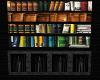 Black Stone Bookcase