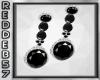 Black Diamond Drop Ears