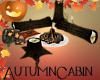 Autumn Cabin Campfire