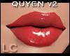 LC Quyen Glossy Red Lips