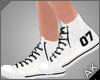 ~AK~ Varsity Shoe: White