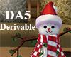 (A) Decor Snowman