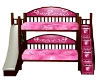 Girls Bunk Bed w/scaler