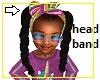 Kids Rainbow Head Bow