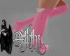 bad bunny boots pink RLL