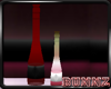-[bz]- Deco Red Bottle