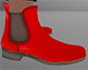 Red Chelsea Boots 2 (M)