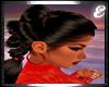 LYKA BLACK,w RED SPARKLE
