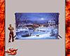 Christmas Scene Backdrop
