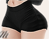 ☾ Black shorts vl