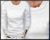 Plain white sweater