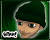 602 Skully: Forest Green