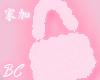 pink sugar fluffy purse