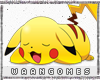 WG| Cute Pikachu Sticker