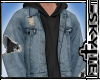 Ripped Jacket (Black