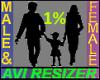 1% Short