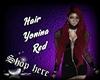 Hair Yonina  Red