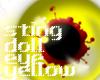 sting doll eye yellow