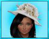 White Summer Hat