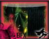 BFX Blk Marble Pedestal