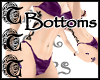 TTT Purple BikiniBottoms
