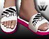 #F Sandals Pink