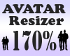 Avatar Resizer 170%