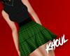 K| Green Punk Dress