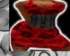 [E] RED LACE DRESS