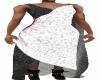 Bl/W Fantasy Dress