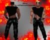 RQ-Black Devil Pants