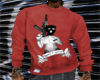 (C)Red Rights2 sweater
