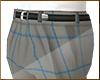 Grey w/ Blue Check Pants