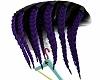 STEM Purple Shave Braids