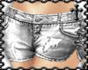 * Silver Jean Shorts
