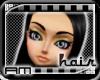 [AM] Cristina Black Hair