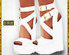 ! White Wedges