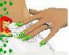 toxic ivy nails