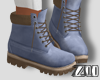 [zuv] ankle boot blue