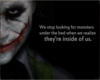 Joker Monsters Within Us